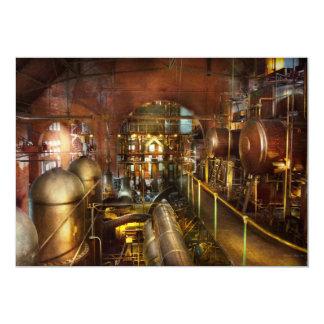 Cartão Steampunk - pense - tanques
