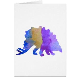 Cartão Stegosaurus