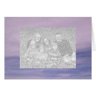 Cartão Sua imagem no céu