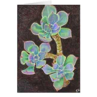 Cartão Succulent 2