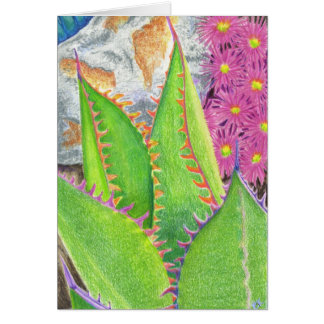 Cartão Succulent 3