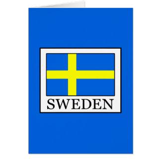 Cartão Suecia