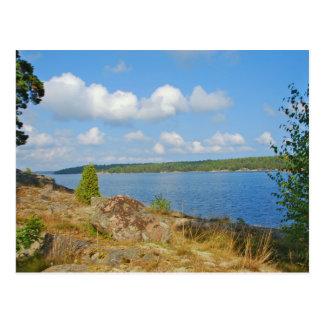 Cartão sueco do landskap