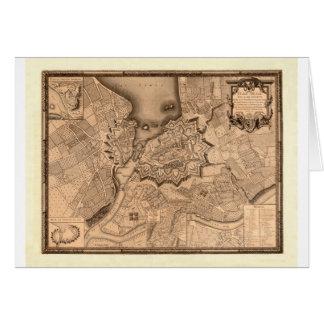 Cartão Suiça 1773 de Genebra