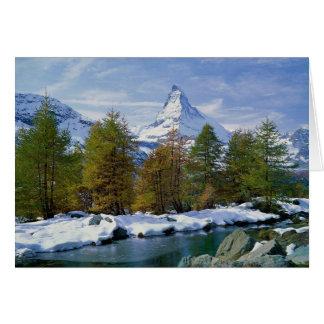 Cartão Suiça de Matterhorn