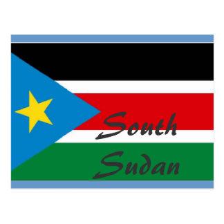 Cartão sul de Sudão