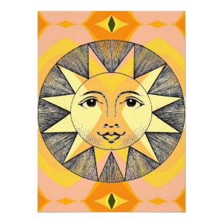 Cartão Sun de sorriso