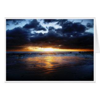 Cartão Sun, mar e areia