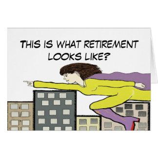 Cartão super da aposentadoria