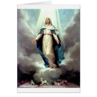Cartão Suposição de Mary