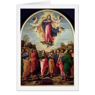 Cartão Suposição do Virgin