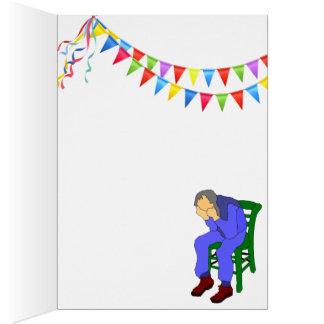Cartão Suposição quem esqueceu meu aniversário? (vazio