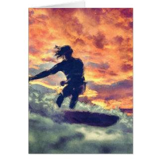 Cartão Surfar