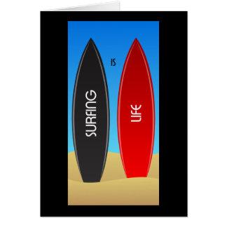 Cartão Surfar é zen da vida