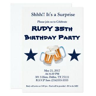 Cartão Surpresa do aniversário
