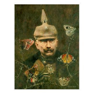 Cartão surreal de Kaiser Wilhelm