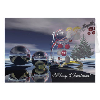 Cartão surrealista do Xmas