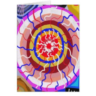 Cartão Surya Chakra - energia da fonte de Sun
