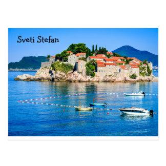 Cartão Sveti Stefan Budva Montenegro