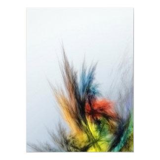 Cartão Swoosh multicolorido