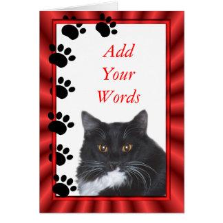 Cartão Sylvester cartão-personaliza