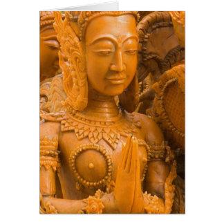 Cartão Tailândia, Ubon Ratchathani, festival da vela,