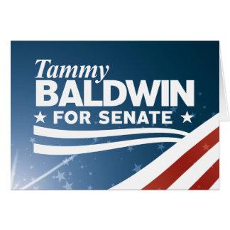 Cartão Tammy Baldwin
