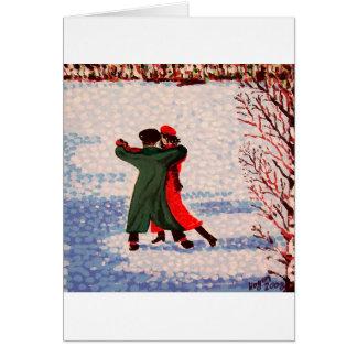 Cartão Tango da neve