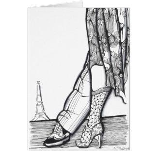 Cartão Tango em Paris