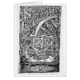 Cartão Tanque do tentáculo por Brian Benson