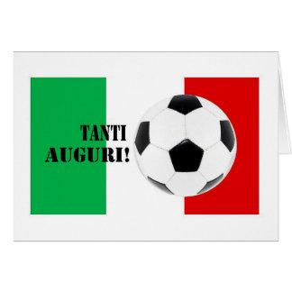 Cartão Tanti Auguri - feliz aniversario no italiano