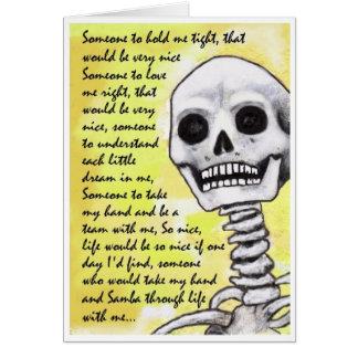 … Cartão tão agradável da canção da samba
