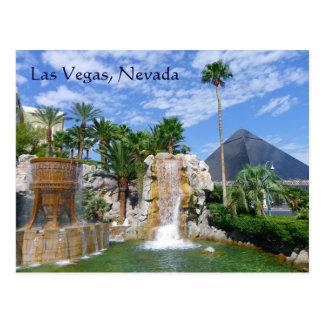 Cartão tão bonito de Las Vegas!