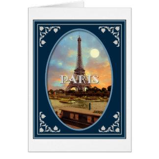 Cartão Tarde de Paris