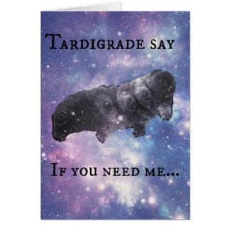 Cartão Tardigrade diga - julgando