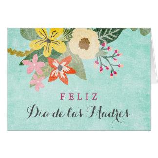 Cartão Tarjeta/Feliz Diâmetro de las Madres