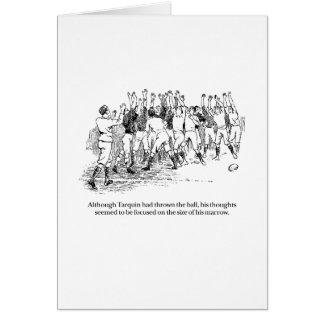 Cartão Tarquin e a abóbora