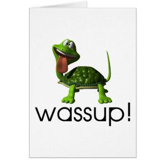 Cartão Tartaruga de Wassup