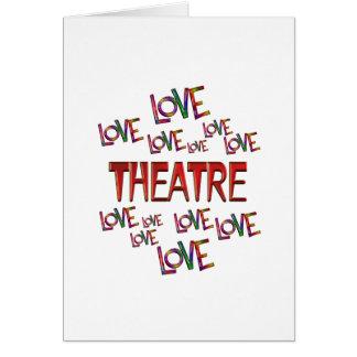 Cartão Teatro do amor do amor