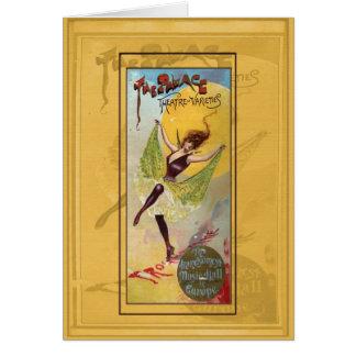 Cartão Teatro do palácio das variedades