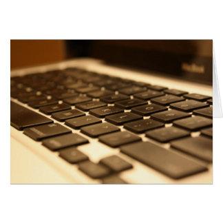 Cartão Teclado de computador do Mac