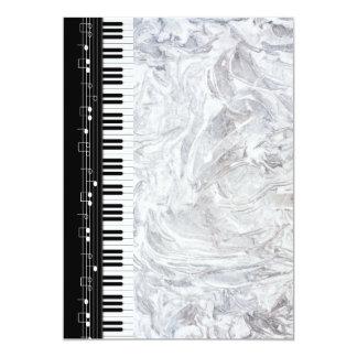 Cartão Teclado de piano