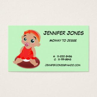 Cartão telefónico do bebé