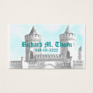 Cartão telefónico do castelo