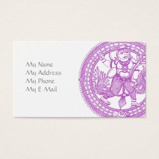 Cartão telefónico do macaco de Hanuman