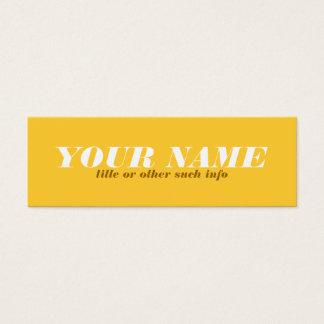 Cartão telefónico Tonal do ocre amarelo
