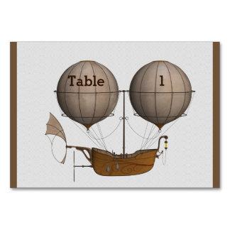 Cartão temático da mesa de Steampunk