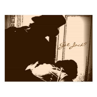 Cartão temático de Jack the Ripper