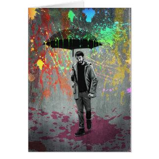 Cartão Tempestade da arte