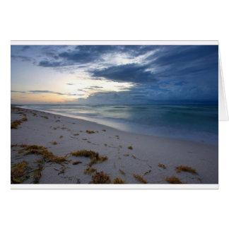 Cartão Tempestade que aproxima Miami Beach